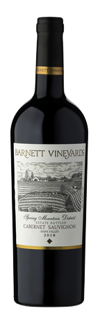 2018 Cabernet Sauvignon, Spring Mountain District